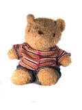 Toy Bear. Cute toy bear for childr in clothes Royalty Free Stock Photo