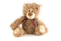 Toy Bear. On white isolated background Stock Images