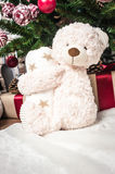 Toy bear as a gift Royalty Free Stock Photo