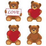 Toy bears. Royalty Free Stock Photos