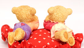 Toy bears lovers Stock Photography