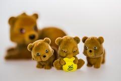 Toy bears Stock Image