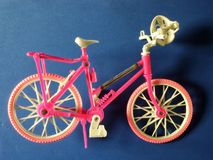 Toy bicycle Royalty Free Stock Images