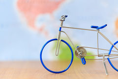 Toy bicycle Stock Photos