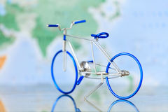 Toy bicycle Stock Image