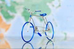 Toy bicycle Stock Photo