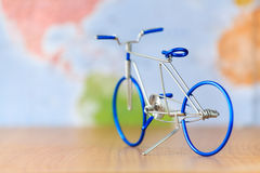 Toy bicycle Stock Images