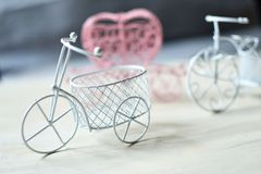 Toy Bicycles Royaltyfria Bilder