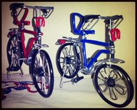 Toy Bicycles Royalty Free Stock Images