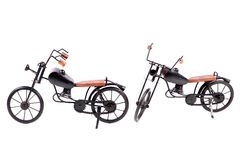 Toy bikes Stock Photo