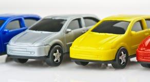 Toy bilar Arkivbild