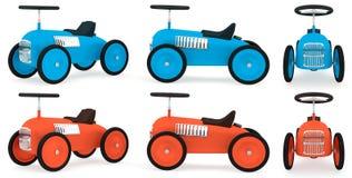 Toy bilsamlingen Fotografering för Bildbyråer