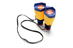 Toy Binoculars Stock Photo