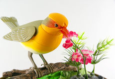 Toy bird. Royalty Free Stock Images