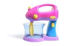 Toy Blender. On Isolated White Background royalty free stock photography