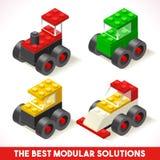 Toy Block Cars 01 gioco isometrico royalty illustrazione gratis