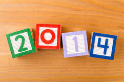 2014 toy block Stock Images