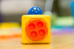 Toy block Royalty Free Stock Photography