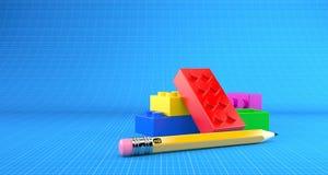 Toy Blocks vektor abbildung