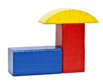 Toy blocks Royalty Free Stock Photography