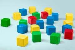 Toy Blocks Fotos de archivo