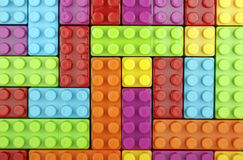 Toy blocks royalty free stock photo