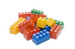 Toy blocks isolated Stock Image