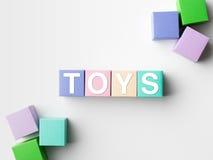 Toy blocks Stock Photography