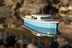 Toy boat Royalty Free Stock Photos