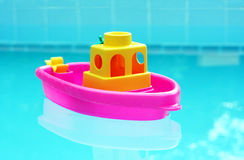 Toy Boat stock foto's