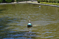 Toy Boat Imagen de archivo