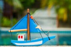 Toy Boat Royaltyfri Bild