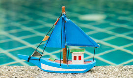 Toy boat Royalty Free Stock Image