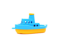Toy boat Stock Image