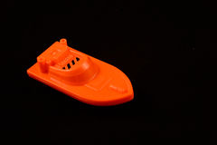 Toy boat Stock Images