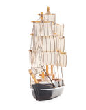 Toy boat. Royalty Free Stock Image
