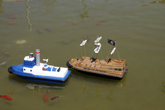 Toy boats Royalty Free Stock Photo