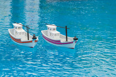 Toy Boats Royalty Free Stock Images