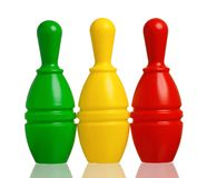 Toy bowling Stock Photography