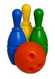 Toy bowling Stock Photos