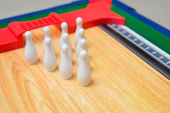 Toy bowling set Stock Images