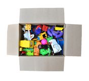 Toy in a box Stock Photo