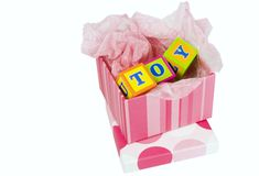 Toy box Royalty Free Stock Images