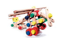 Toy brick. To play a child's creativity Royalty Free Stock Images