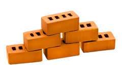 Toy brick close up Royalty Free Stock Photography
