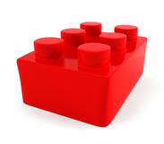 Toy brick Stock Photography