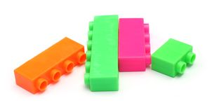 Toy bricks Royalty Free Stock Photos