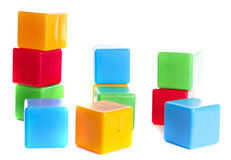Toy bricks Stock Images