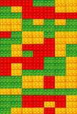 Toy bricks background Stock Image