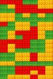 Toy bricks background Stock Image